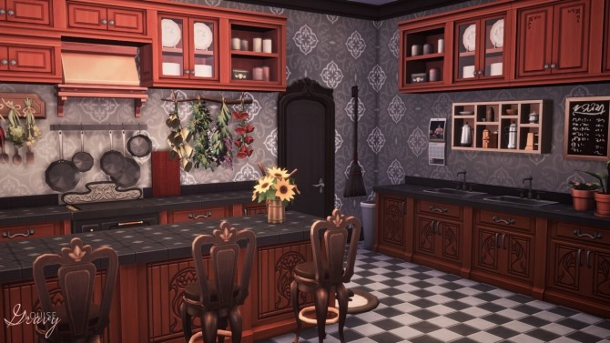 Spellcaster's House at GravySims image 6413 670x377 Sims 4 Updates