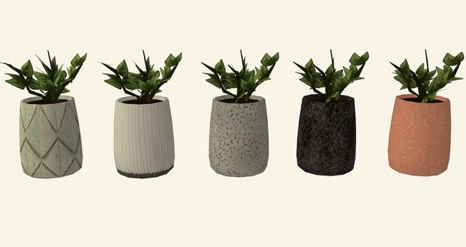 Recolors of leaf motif's Little Ceramics set at Riekus13 image 6510 670x356 Sims 4 Updates