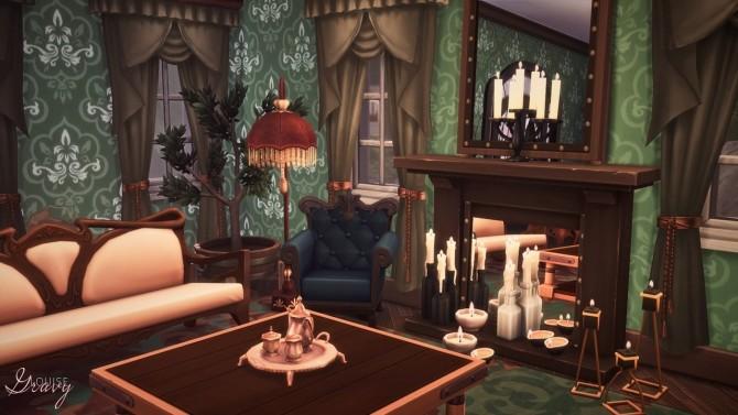 Spellcaster's House at GravySims image 6512 670x377 Sims 4 Updates