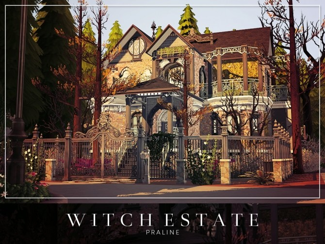 Witch Estate at Cross Architecture image 657 670x503 Sims 4 Updates