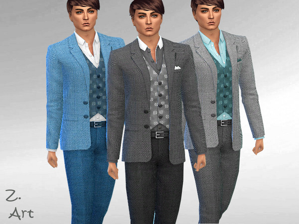 Smart Fashion 08 classic suit by Zuckerschnute20 at TSR image 67 Sims 4 Updates