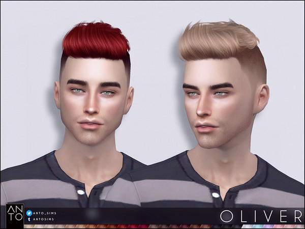 Oliver Hairstyle by Anto at TSR image 6719 Sims 4 Updates