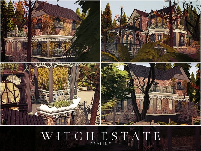 Witch Estate at Cross Architecture image 677 670x503 Sims 4 Updates