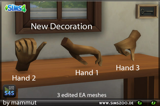 3 Hands by mammut at Blacky's Sims Zoo image 6818 Sims 4 Updates
