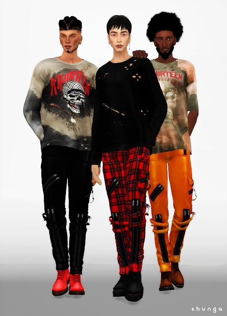 Boots & Photoshoot Outfits at Shunga image 682 Sims 4 Updates