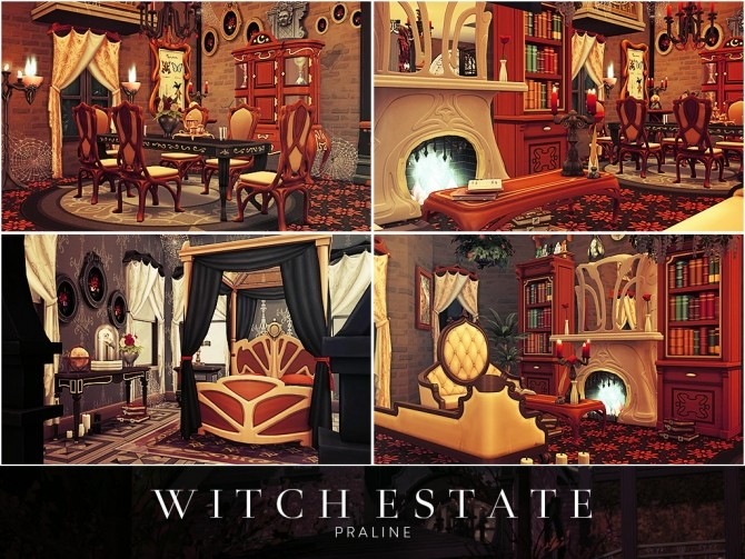 Witch Estate at Cross Architecture image 688 670x503 Sims 4 Updates