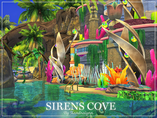 Sirens Cove by Xandralynn at TSR image 690 Sims 4 Updates