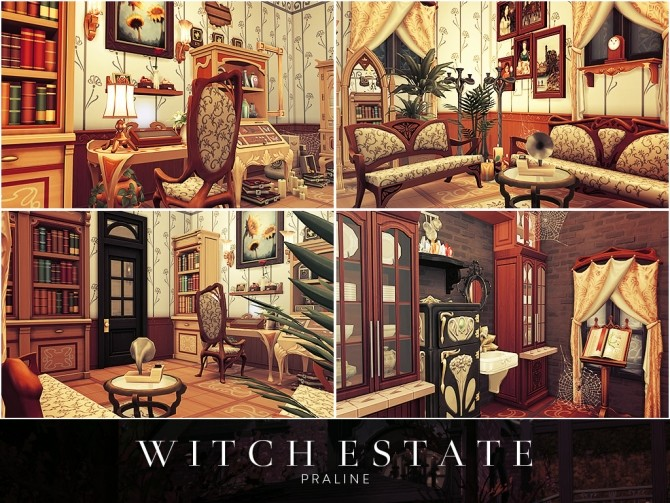 Witch Estate at Cross Architecture image 697 670x503 Sims 4 Updates