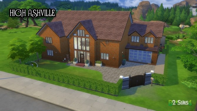 High Ashville house by Brunnis 2 at Mod The Sims image 699 670x378 Sims 4 Updates