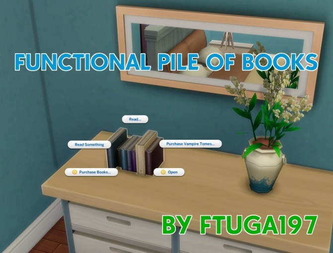 Functional Pile of Books by FTuga197 at Mod The Sims image 70 670x509 Sims 4 Updates