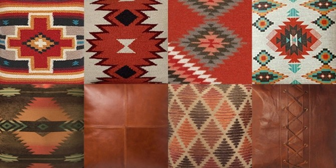 Sims 4 Southwestern pillows at Riekus13
