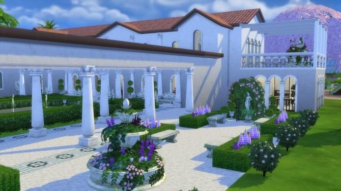Sims 4 Ancient Roman Villa at ArchiSim