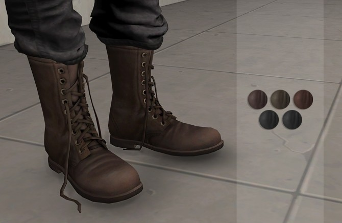High Top Boots (P) at Darte77 image 7119 670x436 Sims 4 Updates