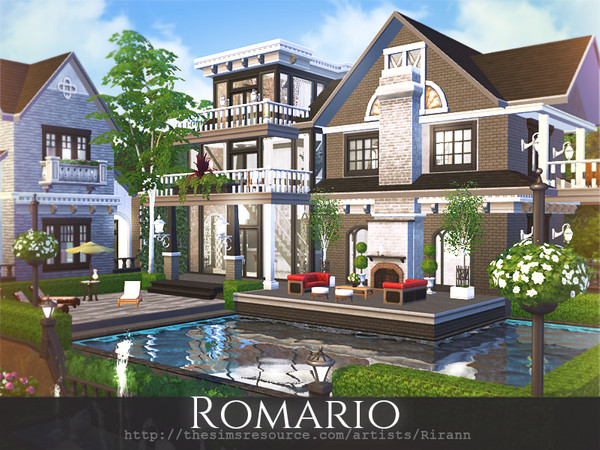 Romario house by Rirann at TSR image 720 Sims 4 Updates