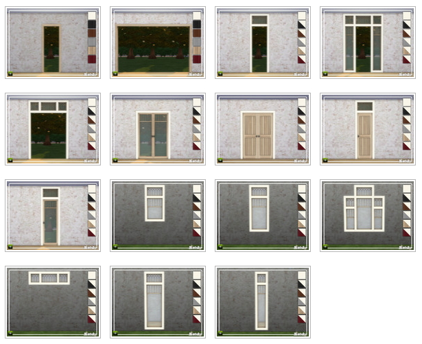 Sims 4 Linton Construction set Part 1 by mutske at TSR