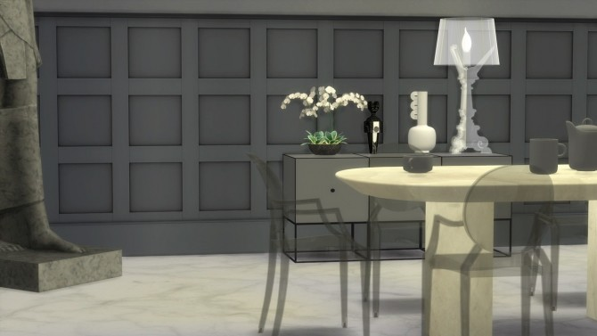 LOUIS GHOST CHAIR at Meinkatz Creations image 737 670x377 Sims 4 Updates