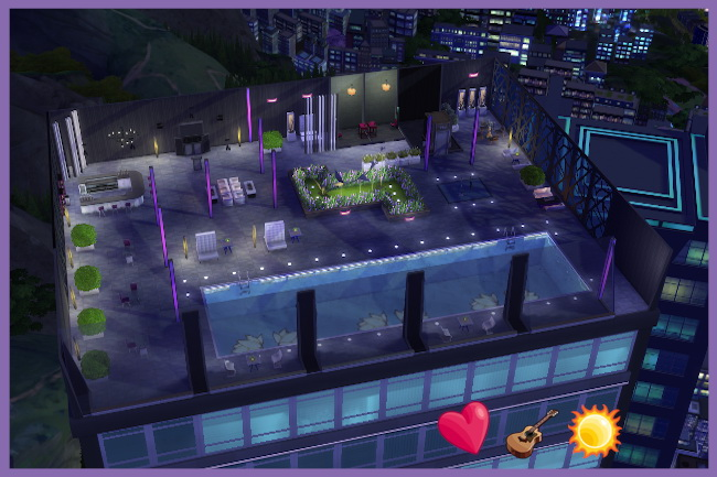 Sims 4 Weatherproof lounge by Kosmopolit at Blacky's Sims Zoo