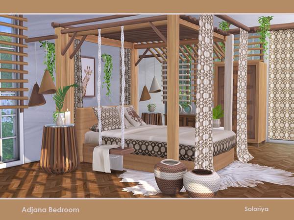 Adjana Bedroom by soloriya at TSR image 766 Sims 4 Updates