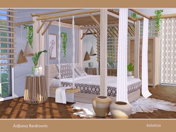 Adjana Bedroom by soloriya at TSR image 776 Sims 4 Updates
