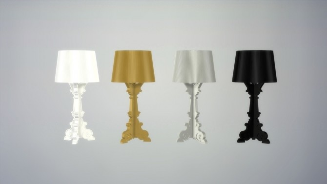 BOURGIE TABLE LAMP (P) at Meinkatz Creations image 777 670x377 Sims 4 Updates