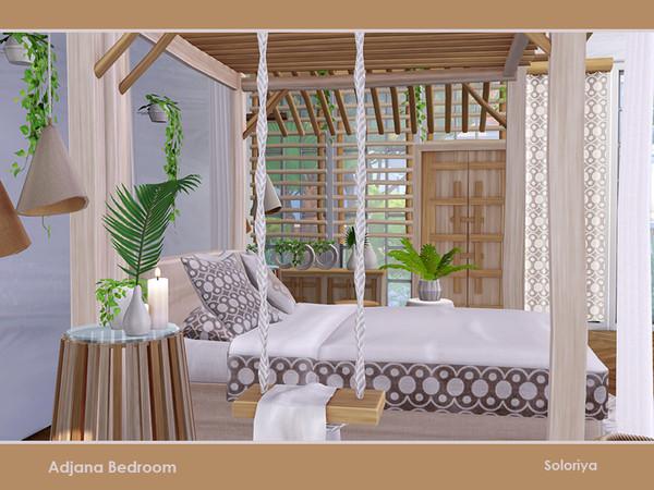 Adjana Bedroom by soloriya at TSR image 785 Sims 4 Updates