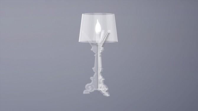 BOURGIE TABLE LAMP (P) at Meinkatz Creations image 786 670x377 Sims 4 Updates