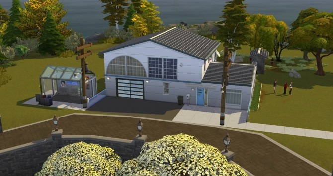Swappernetters Futurized Clarion House by BulldozerIvan at Mod The Sims image 79 670x355 Sims 4 Updates