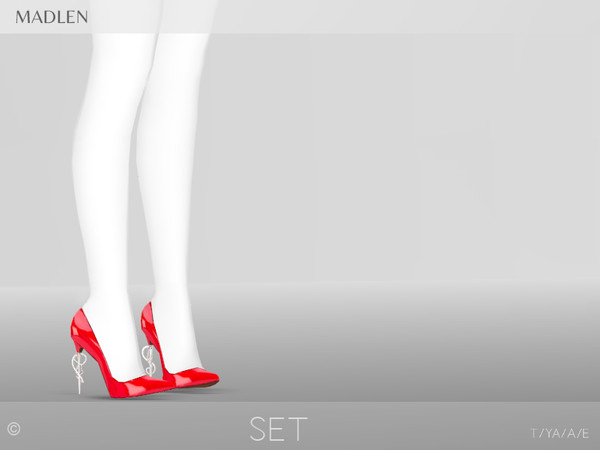 Madlen Set Shoes by MJ95 at TSR image 7915 Sims 4 Updates