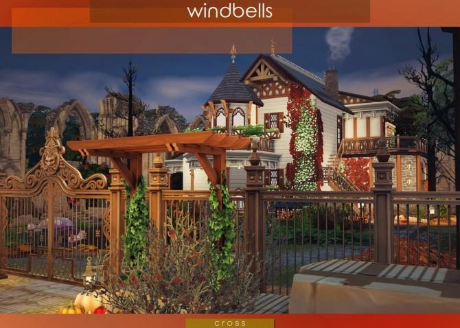 Sims 4 Windbells house at Cross Design