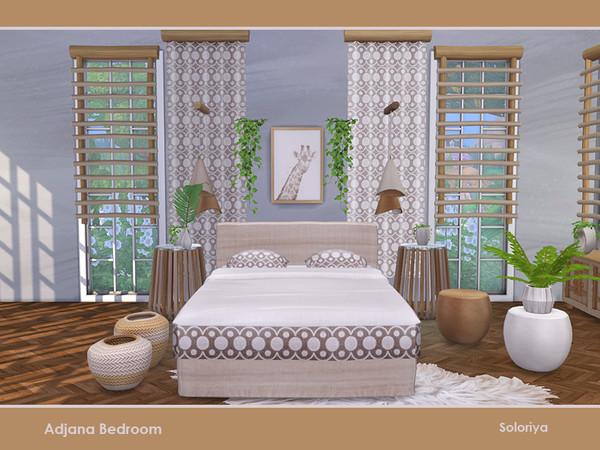 Adjana Bedroom by soloriya at TSR image 796 Sims 4 Updates