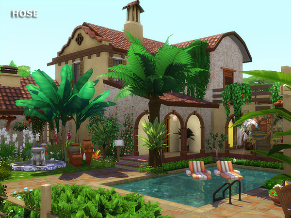 HOSE house by marychabb at TSR image 8 Sims 4 Updates