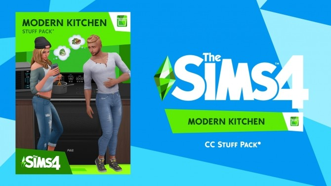 Modern Kitchen Custom Stuff Pack by littledica at Mod The Sims image 8019 670x377 Sims 4 Updates