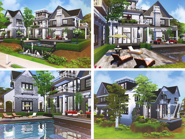 Romario house by Rirann at TSR image 816 Sims 4 Updates