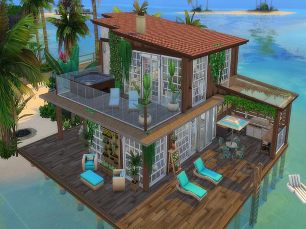 Palmos Loft by LJaneP6 at TSR image 820 Sims 4 Updates