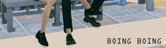 Boing Boing shoes at MINZZA image 8211 670x196 Sims 4 Updates