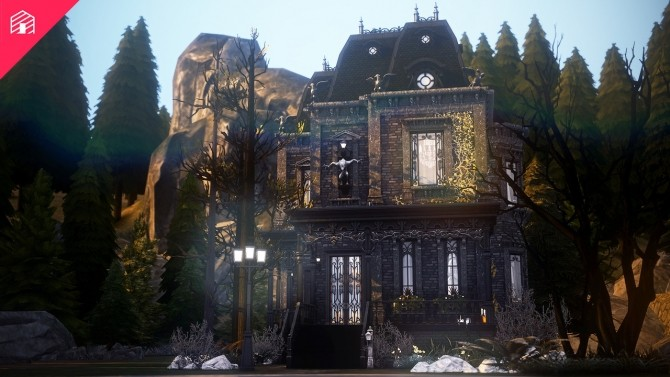 Sims 4 Black Creek house at Harrie
