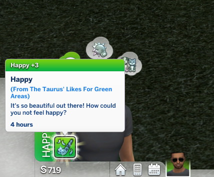 Sims 4 Taurus Custom Trait by StormyWarrior8 at TSR