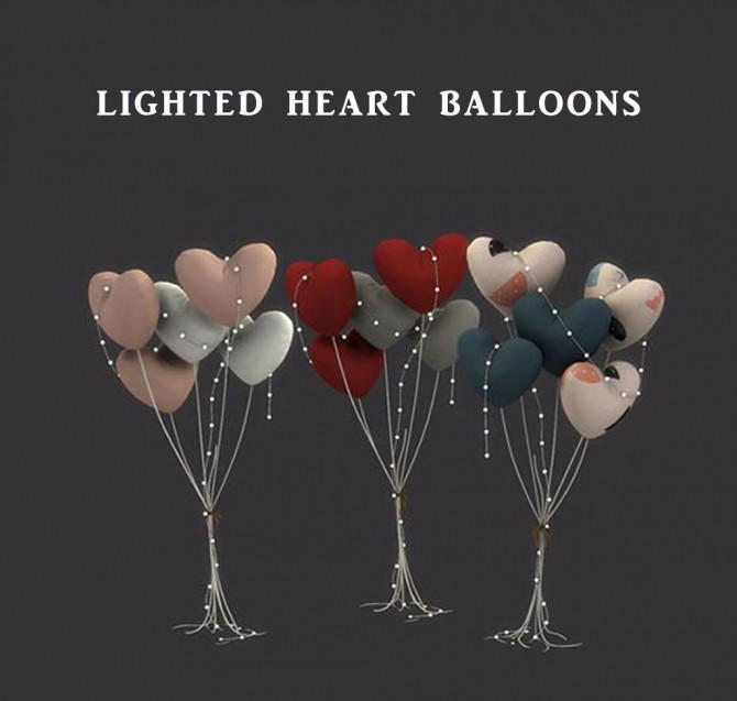 Sims 4 Heart Balloons at Leo Sims