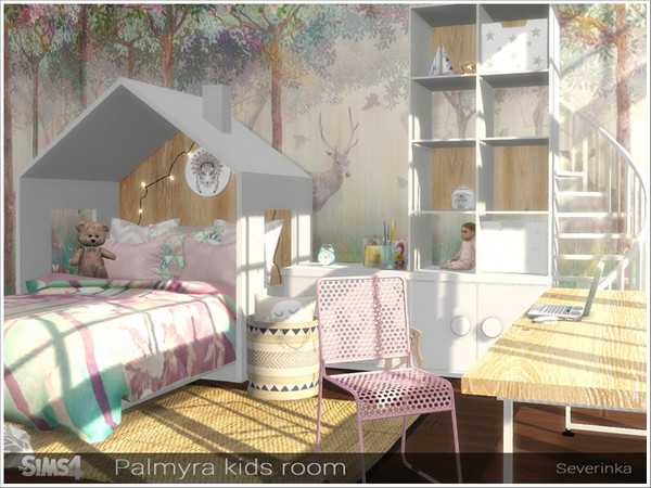 Palmyra Kids Room By Severinka At Tsr 187 Sims 4 Updates