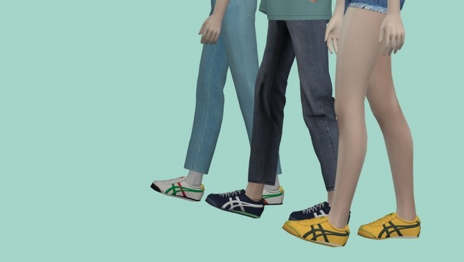 Onitsuka Tiger sneakers at MINZZA image 8710 670x379 Sims 4 Updates