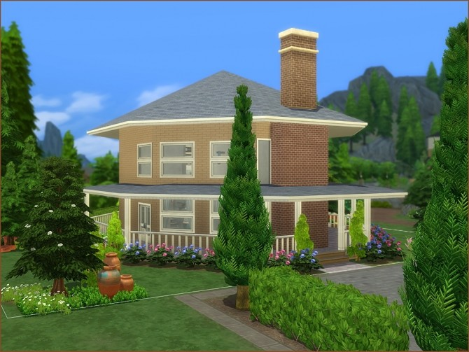 Octagon Abode No CC by oumamea at TSR image 8915 670x503 Sims 4 Updates
