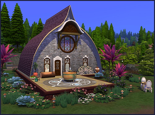 Glimmerbrook Mystic house at CappusSims4You image 897 Sims 4 Updates