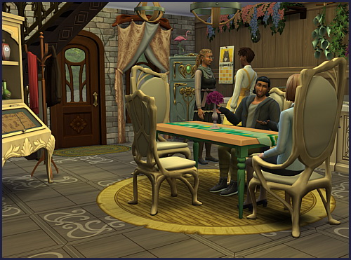 Glimmerbrook Mystic house at CappusSims4You image 907 Sims 4 Updates