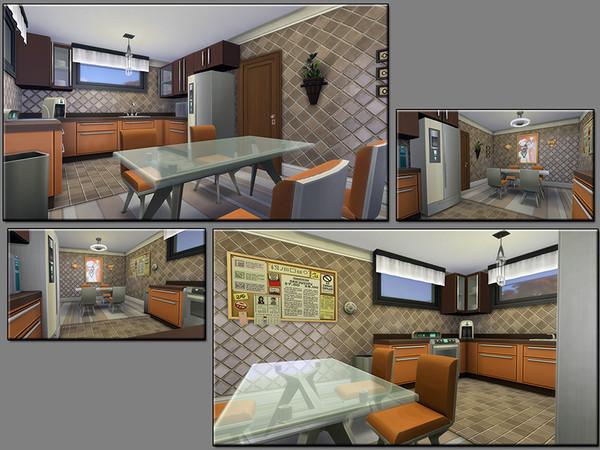 Sims 4 MB Final Blueprint house by matomibotaki at TSR