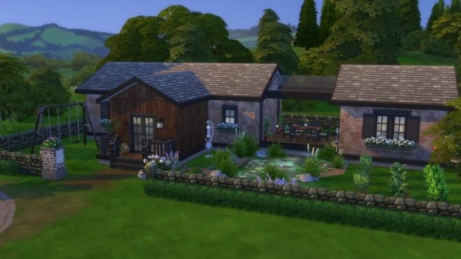Sims 4 Grandma's Summer Cottage at ArchiSim
