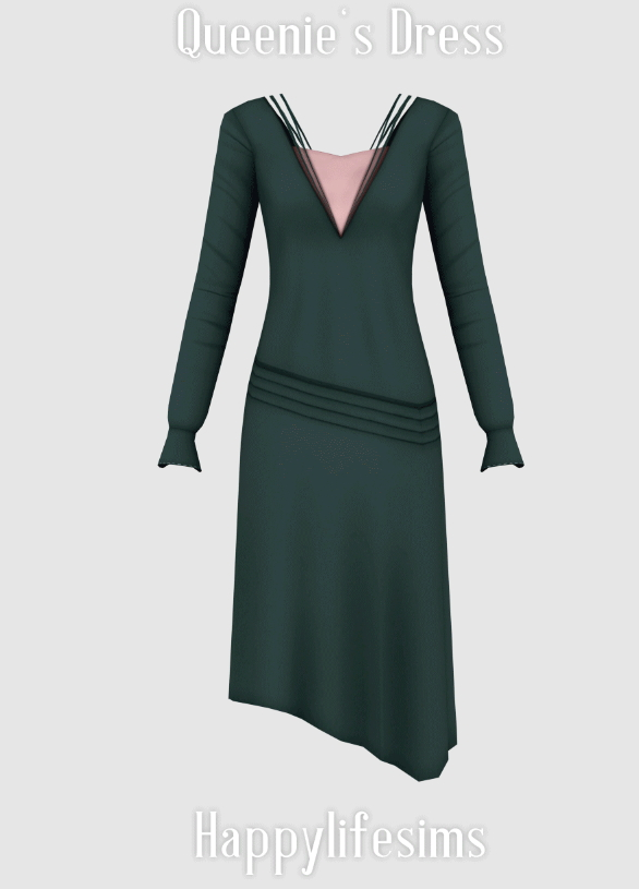 Queenie's Dress at Happy Life Sims image 9113 Sims 4 Updates