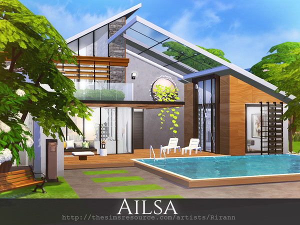 Ailsa cozy house by Rirann at TSR image 9124 Sims 4 Updates
