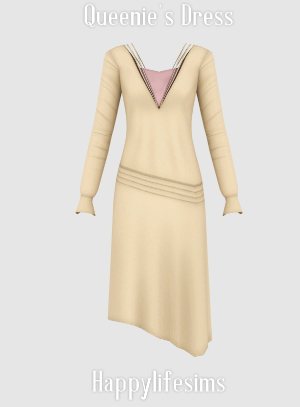 Queenie's Dress at Happy Life Sims image 9210 Sims 4 Updates
