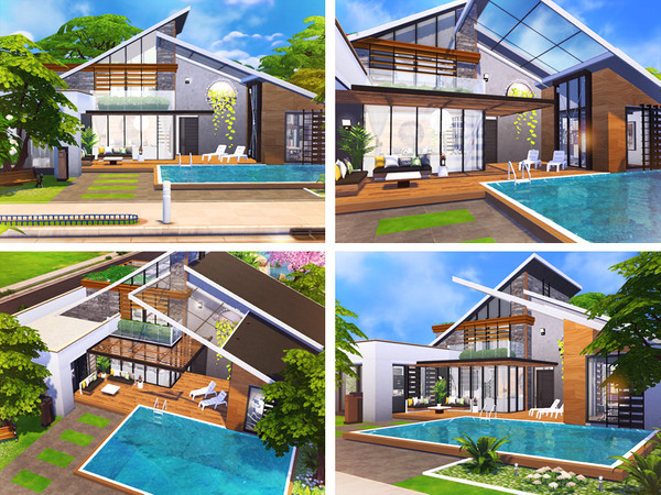 Sims 4 Ailsa cozy house by Rirann at TSR
