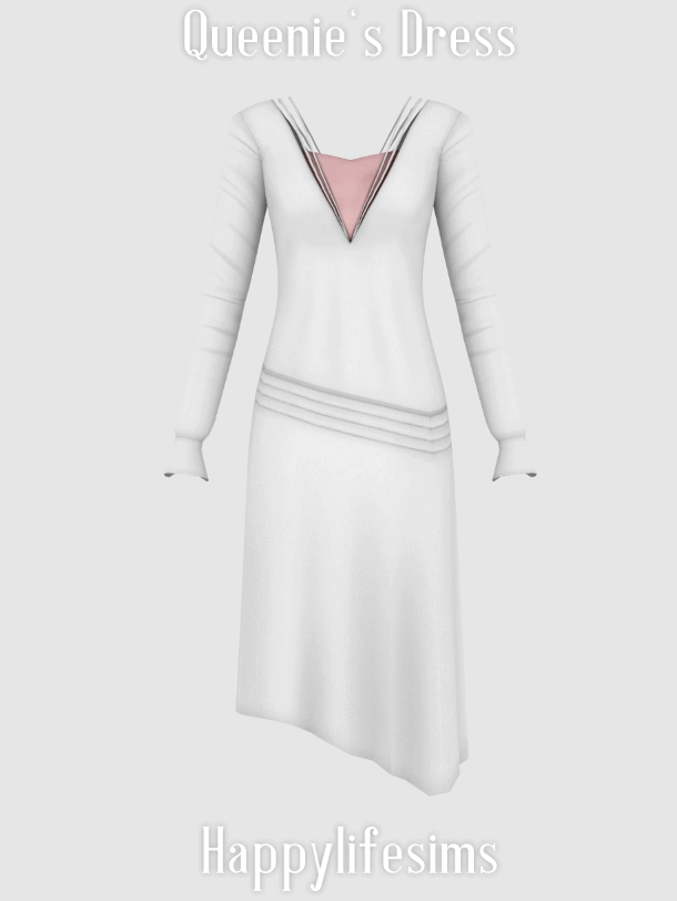 Queenie's Dress at Happy Life Sims image 938 Sims 4 Updates